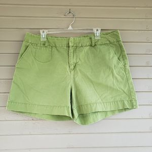 Bass Green Cotton Shorts Size 16